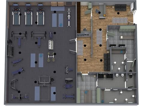 Gym Layout | RoomSketcher
