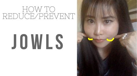 How to fix/reduce jowl, sagging lower cheeks - YouTube