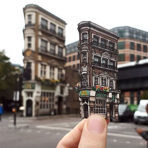 Illustrator Captures London's Historic Pubs in a Series of