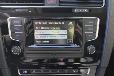 Adaptive Cruise Control (ACC) for VW Golf 7