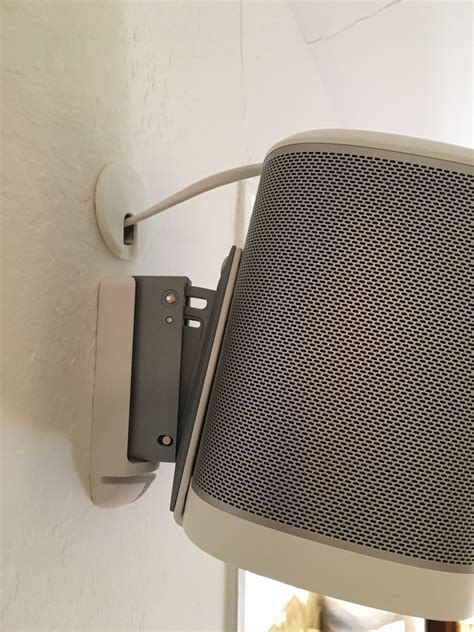Mounting and hiding cables for Sonos Play:1 | Sonos Community