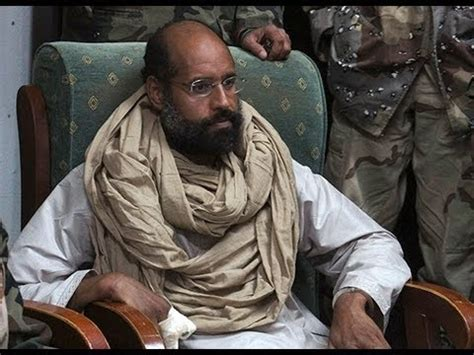 'Gaddafi's son may face execution after show trial in