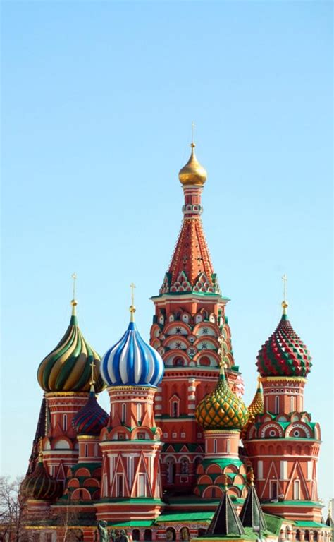 Saint Basil's Cathedral, Moscow, Russia - Map, Facts