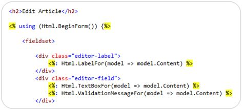 ScottGu's Blog - New Syntax for HTML Encoding Output in