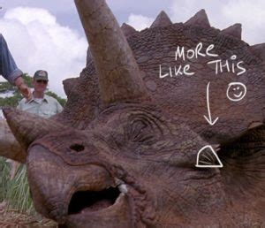 Let's Talk about Jurassic Park: Part 2 – Triceratops