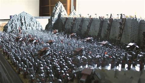 Epic Recreation of Lord of the Rings Battle of Helm's Deep