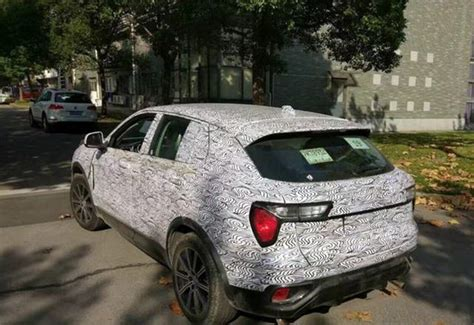 Geely's Lynk & Co CX11 Spotted Testing in China - CarSpiritPK