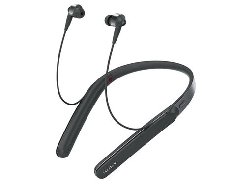 Sony WF-1000X earbuds, WI-1000X and WH-1000XM2 headphones