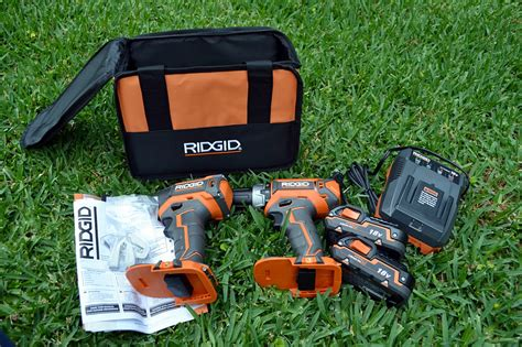 Ridgid Drill and Impact Driver Kit Review - Tools In