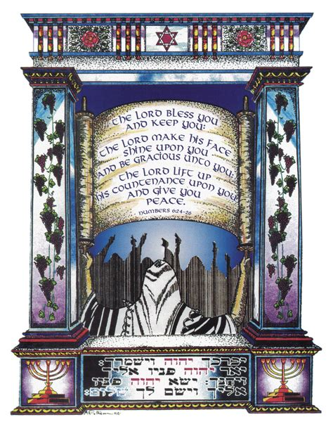 Aaronic Priestly Blessing Print