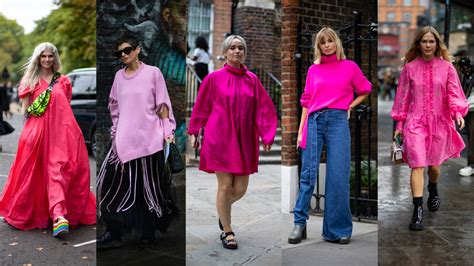 Bright Pink Ensembles Stole the Show on Day 4 of London
