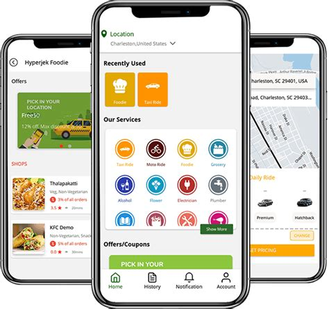 Gojek Clone - Launch your On-demand multi services app in