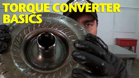 How Does a Torque Converter Work? - YouTube