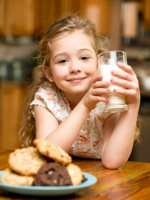 Kids Need Their Milk - Milk Recipes and Other Healthy