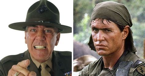 R Lee Ermey's role as Gunnery Sergeant Hartman was iconic