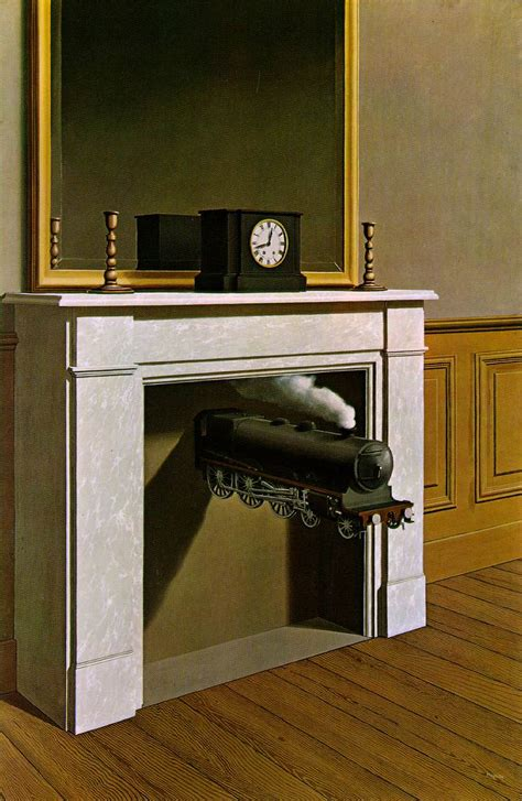 When Falls the Coliseum » Rene-Magritte-Time-Transfixed