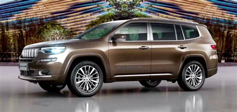 Jeep Grand Commander: Sorry, This Three-Row Jeep Is Only
