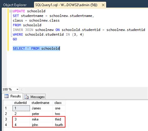 How do I UPDATE from a SELECT in SQL Server? - Stack Overflow
